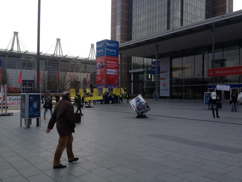 Впечатления о Hannover Messe