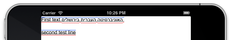 Вывод текста в iOS: CoreText, NSAttributedString