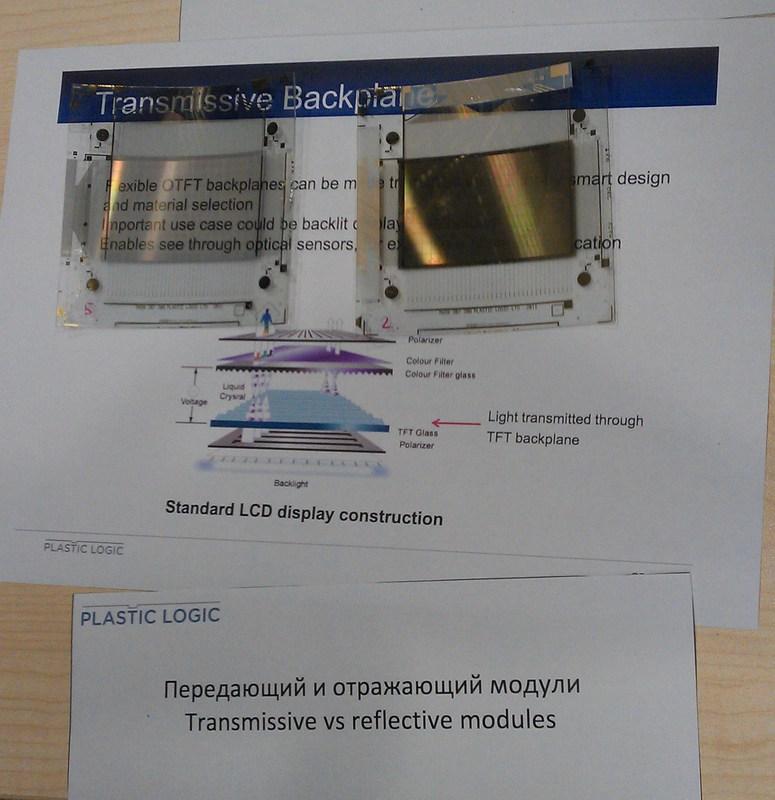 Взгляд изнутри: Plastic Logic