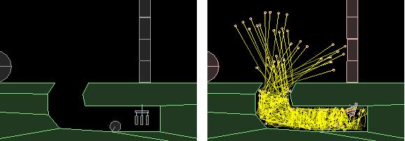 Взрывы в Box2D