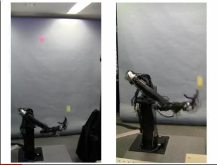 Японские инженеры научили робота жонглировать