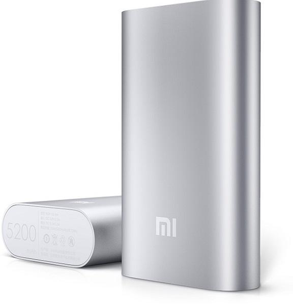 Ёмкость внешнего аккумулятора Xiaomi составляет 5200 мА·ч