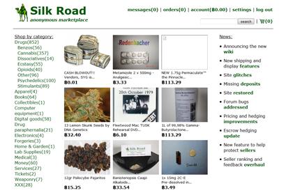 Задержан владелец Silk Road, изъяты 3,6 миллиона долларов