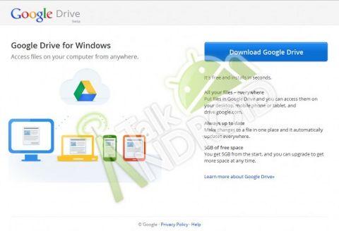 Запуск Google Drive состоится через неделю. Всем по 5 Гигабайт бесплатно