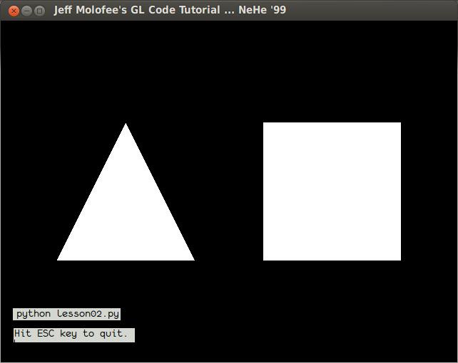 Запускаем OpenGL на python3 (ubuntu)