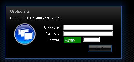 Защита Citrix Web Interface от brute force атак с помощью CAPTCHA