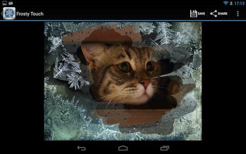 Зимняя сказка в вашем Androide