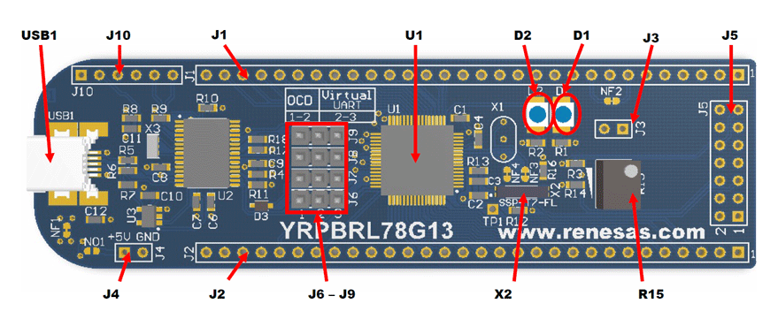 Знакомство с микроконтроллерами Renesas на примере линейки RL78