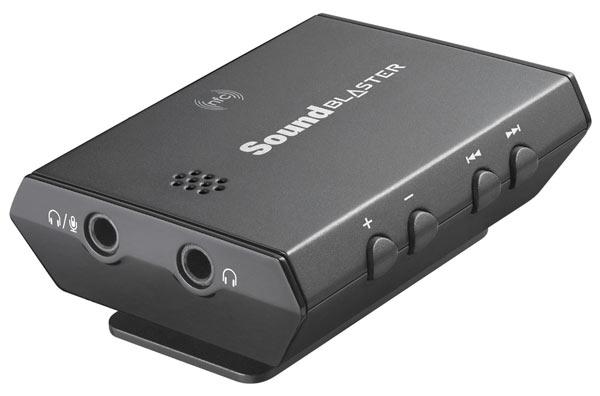 В серию внешних звуковых карт Creative Sound Blaster E вошли модели Sound Blaster E3 и Sound Blaster E1
