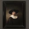 Компьютер написал новую картину Рембрандта через 347 лет после смерти художника