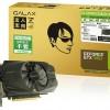 3D-карта Galax GeForce GTX 950 OC характеризуется небольшим заводским разгоном