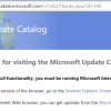 Обновления безопасности Windows можно будет скачать только браузером Internet Explorer