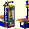 Самодельный 3D принтер на SCARA механике, v3