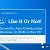 Microsoft втихую снова активирует пакет KB3035583 в Windows 7 для апгрейда ОС до Windows 10