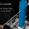 Чтобы воспользоваться измерительным инструментом Cryorig Origami Case Depth Checker, его нужно распечатать, вырезать и склеить