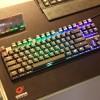 Игровая механическая клавиатура Ozone Strike Battle Spectra с полноцветной подсветкой имеет 80 клавиш