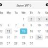 jQuery UI Datepicker — добавление возможности выбора нескольких дат на одном календаре