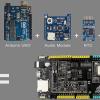 Плата для разработчиков Firefly Fireduino совместима с Arduino Uno, но имеет лучшую функциональность