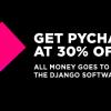 JetBrains и Django анонсировали 30% распродажу PyCharm, c передачей всех денег в фонд Django