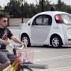 Автономные автомобили Google научились распознавать сигналы, подаваемыми велосипедистами
