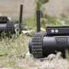 Израильская компания General Robotics представила дрон-минитанк, оснащенный короткоствольным оружием