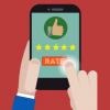 UX-дизайн в мобильном приложении: запрос об оценке приложения