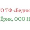 Типографируем названия организаций