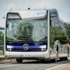 Mercedes-Benz успешно испытала беспилотный автобус на дорогах общего пользования