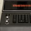 Дисплей калькулятора Singer, выпущенного 45 лет назад, превратили в программируемые часы