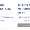 На сайте Nikon «засветились» два новых объектива