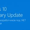 Windows 10 Anniversary Update стала доступна