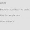 Создание и использование расширений для UWP-приложений с помощью App Services