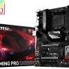 Системная плата MSI 970A Gaming Pro Carbon для процессоров AMD в исполнении AM3+ оснащена светодиодной подсветкой