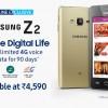 Начались продажи смартфонов Samsung Z2 с ОС Tizen