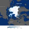 Размеры ледового покрова в Северном Ледовитом океане побили рекордный минимум 2007 года