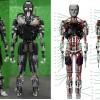 Японский робот Kengoro «потеет» при физической нагрузке