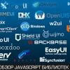 От Jquery UI до Ext.js: обзор javascript UI библиотек для SPA. Часть 1
