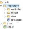 Построение MVC приложения на Node.js с кластертзацией и исполнением кода в песочнице