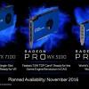 3D-карты серии AMD Radeon Pro WX предназначены для рабочих станций
