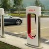 Владельцы электромобилей Tesla, купленных после 1 января 2017, будут платить за пользование зарядными станциями Supercharger