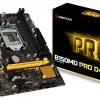 Системная плата Biostar B150MD Pro D4 пополнила серию Pro