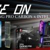 MSI комплектует системные платы X99A Gaming Pro Carbon твердотельными накопителями Intel 600p объемом 256 ГБ