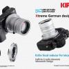 Новые переходники Kipon Baveyes позволяют устанавливать объективы Leica M на камеры Sony E и Fujifilm X