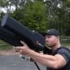 Электронная пушка DroneShield Dronegun позволяет перехватывать дроны с опасным грузом