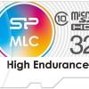 Карты памяти Silicon Power High Endurance microSDHC и microSDXC имеют увеличенный ресурс для записи видео