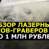 Обзор лазерных резаков-граверов с ЧПУ до 1 млн рублей