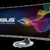 Монитор Asus Designo Curve MX38VQ оснастили изогнутой панелью IPS диагональю 37,5 дюйма