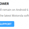 Смартфон Moto E3 Power вышел всего полгода назад, но уже не получит обновления до ОС Android 7.0