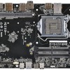Системная плата ASRock H110-STX MXM при типоразмере Mini-STX поддерживает дискретную видеокарту