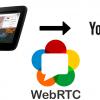 Трансляция WebRTC-видеопотока из браузера на YouTube Live в 65 строк JavaScript-HTML-кода